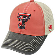 Top of the World Men's Texas Tech Red Raiders Red/White/Black Off Road Adjustable Hat