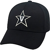 Top of the World Men's Vanderbilt Commodores Black Premium Collection M-Fit Hat