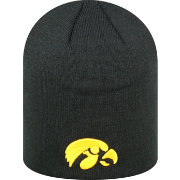 Top of the World Men's Iowa Hawkeyes Black TOW Classic Knit Beanie