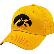 Top of the World Men's Iowa Hawkeyes Gold Crew Adjustable Hat