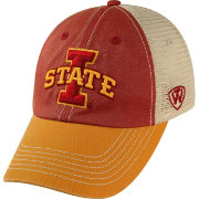Top of the World Men's Iowa State Cyclones Cardinal/White/Gold Off Road Adjustable Hat