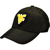 Top of the World Men's West Virginia Mountaineers Black Crew Adjustable Hat