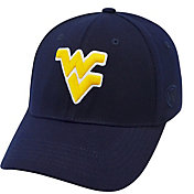 Top of the World Men's West Virginia Mountaineers Blue Premium Collection M-Fit Hat