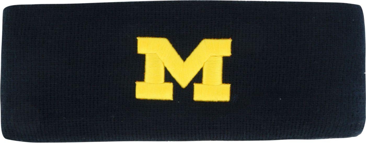 Top of the World Women's Michigan Wolverines Blue Knit Headband