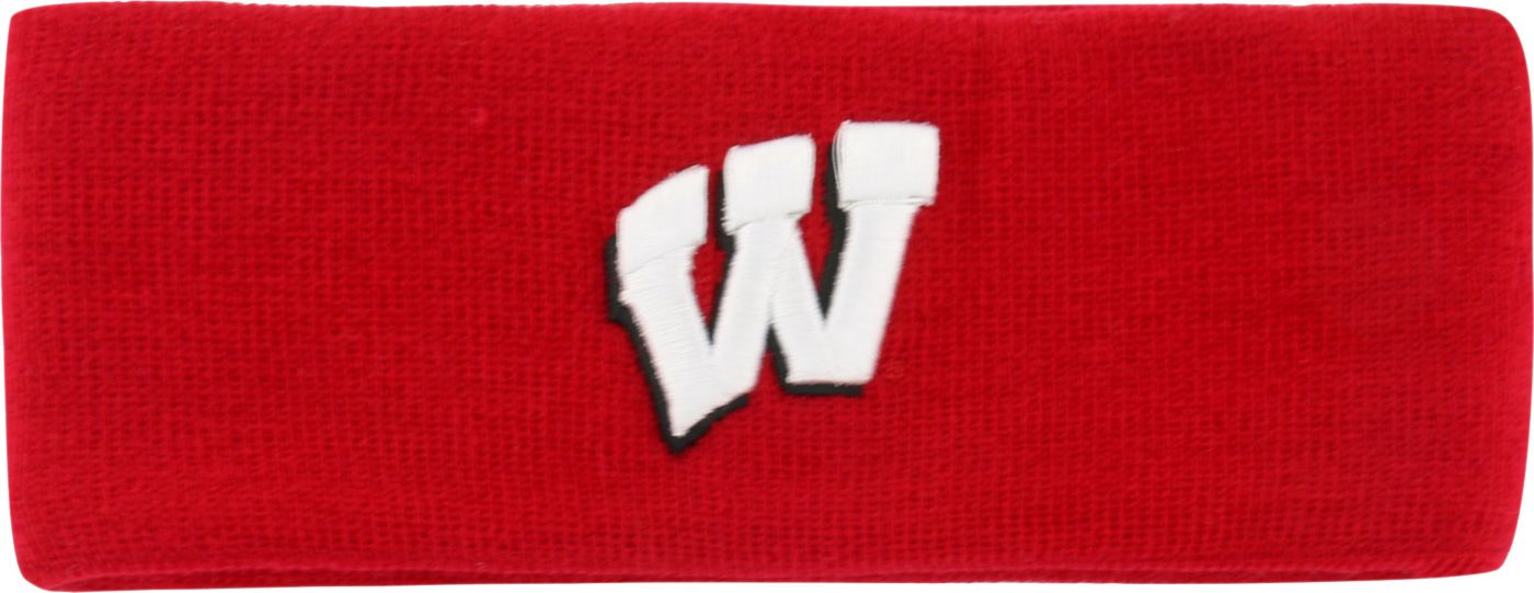 Top of the World Women's Wisconsin Badgers Red Knit Headband