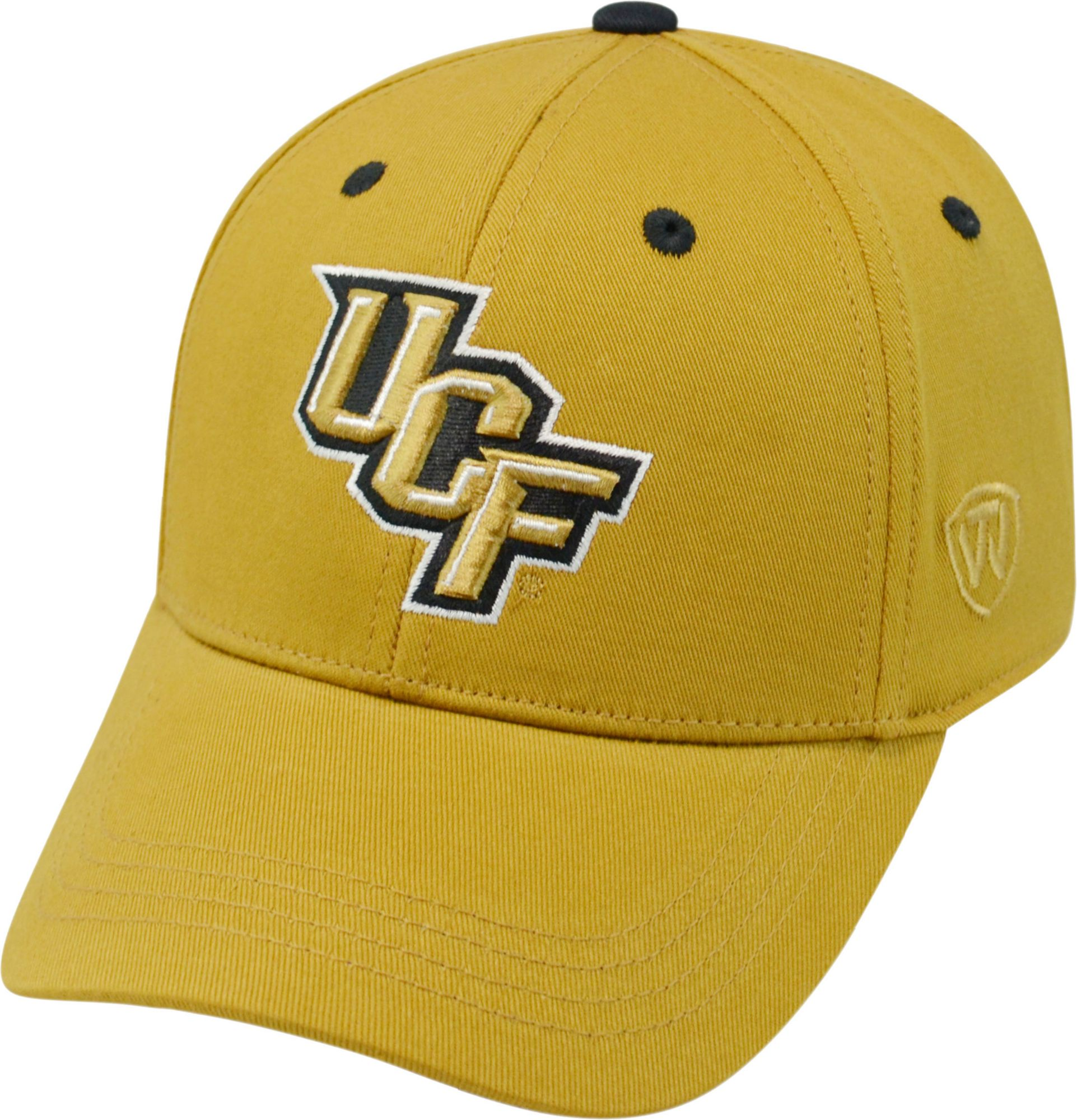 pretty nice c610e 2ec10 ... denmark top of the world youth ucf knights gold rookie hat dicks  sporting bbf8d c20e9