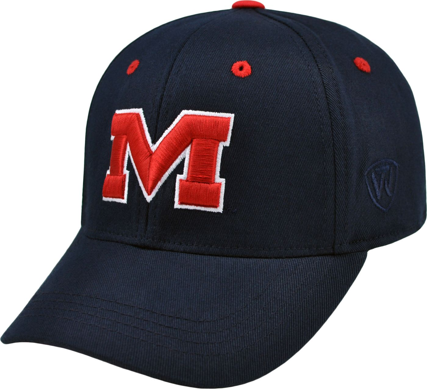 Top of the World Youth Ole Miss Rebels Blue Rookie Hat
