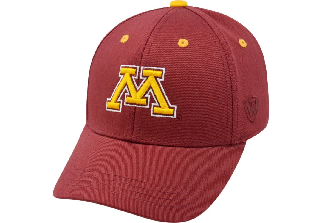 purchase cheap df6a0 c42f6 Top of the World Youth Minnesota Golden Gophers Maroon Rookie Hat 1