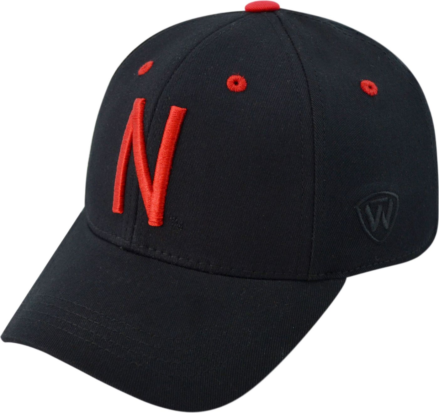 Top of the World Youth Nebraska Cornhuskers Rookie Black Hat