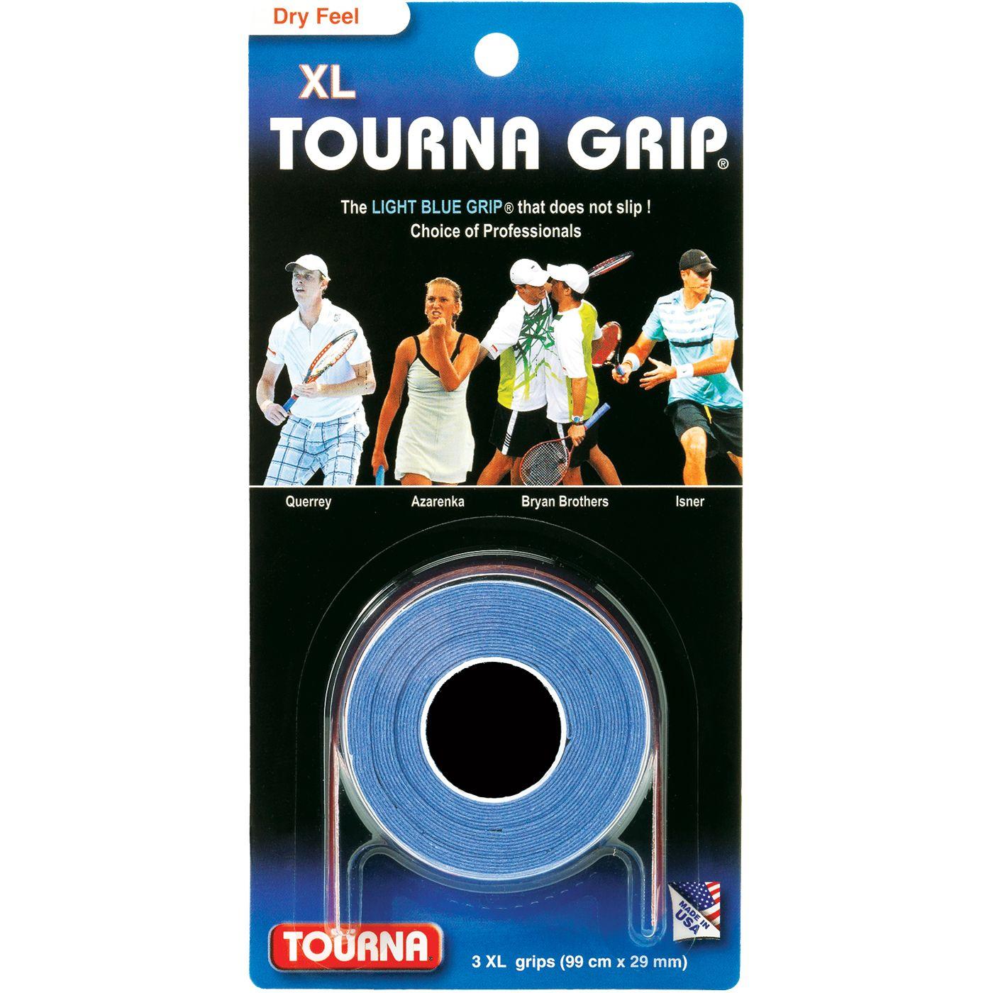Tourna Grip XL Overgrip - 3 Pack