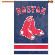 Party Animal Boston Red Sox Applique Banner Flag