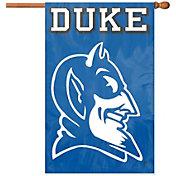 The Party Animal Duke Blue Devils Applique Banner Flag