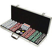 Trademark Poker 500 Dice Striped Chip Poker Super Set