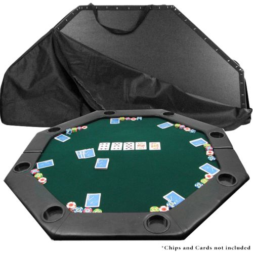 Incroyable Trademark Poker Octagon Padded Poker Table Top