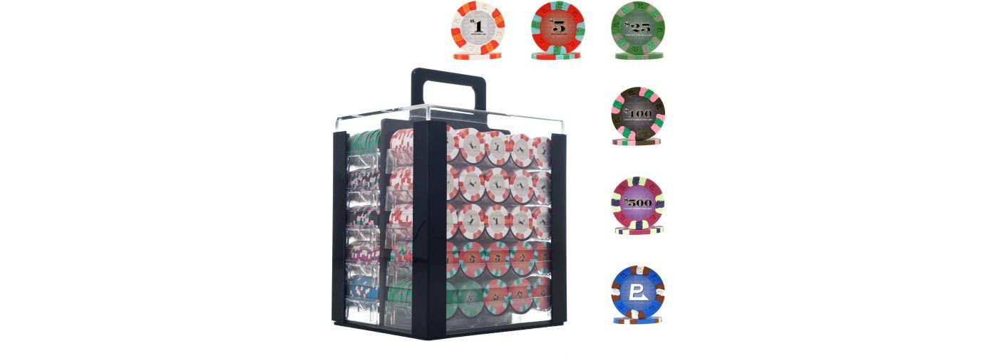 Trademark Poker 1,000 Chip NexGen PRO Poker Set