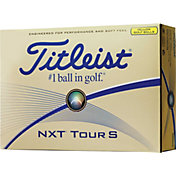 Titleist NXT Tour S Yellow Golf Balls