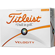 Titleist Velocity Double Numbers Golf Balls - Prior Generation
