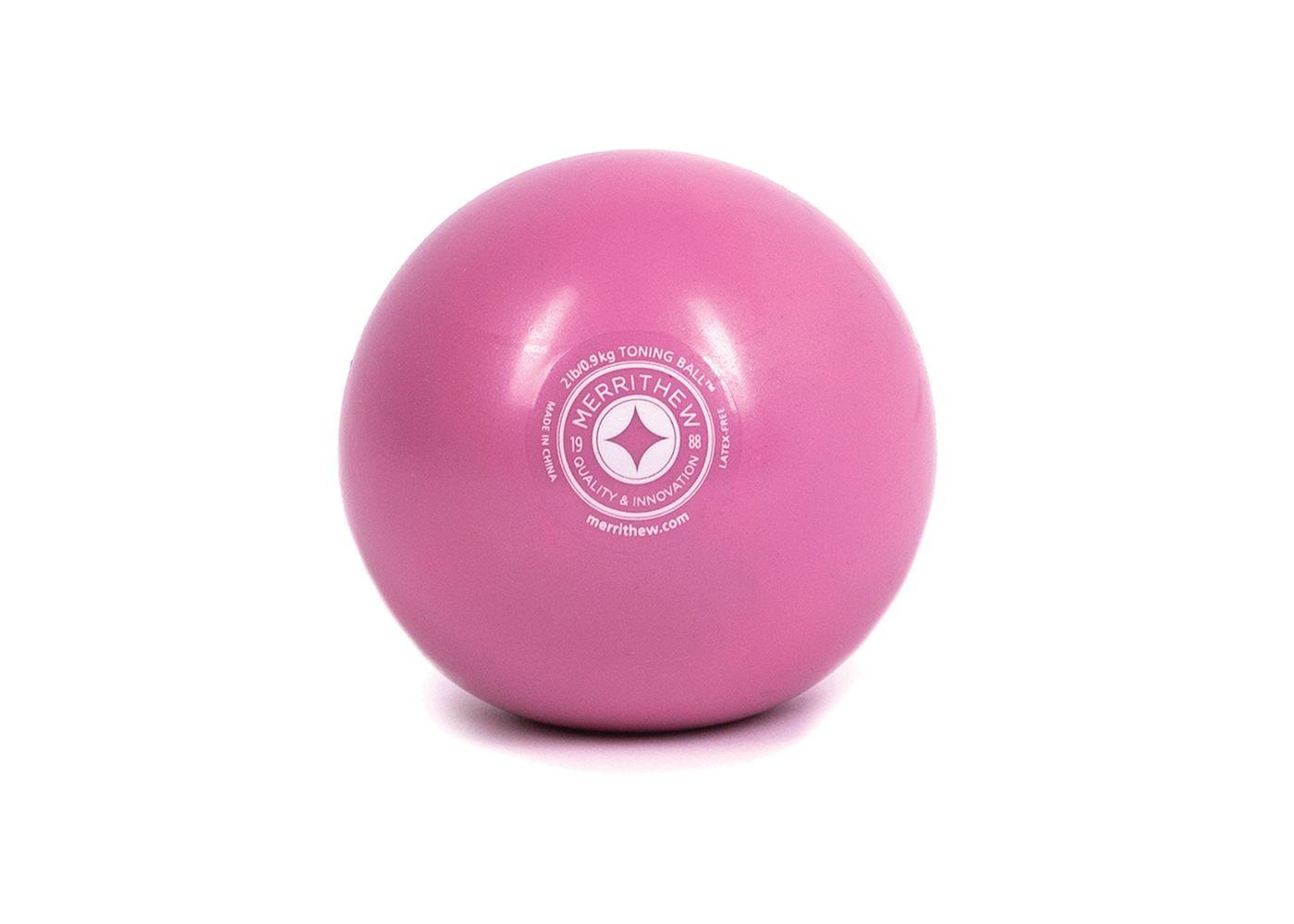 STOTT PILATES 2 lb Pink Toning Ball