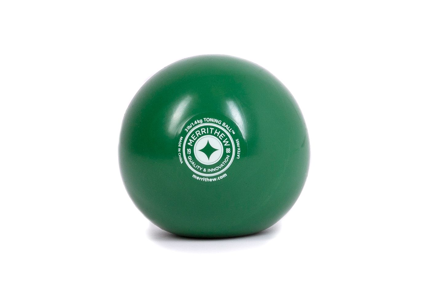 STOTT PILATES 3 lb Toning Ball