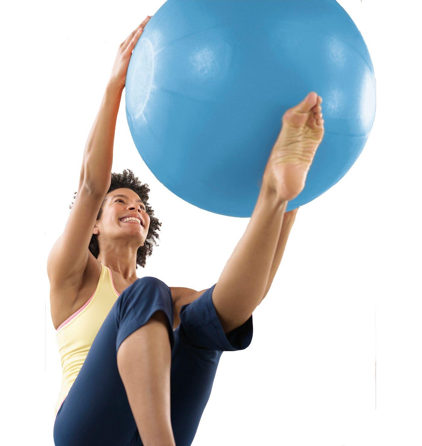 STOTT PILATES 55 cm Stability Ball with DVD