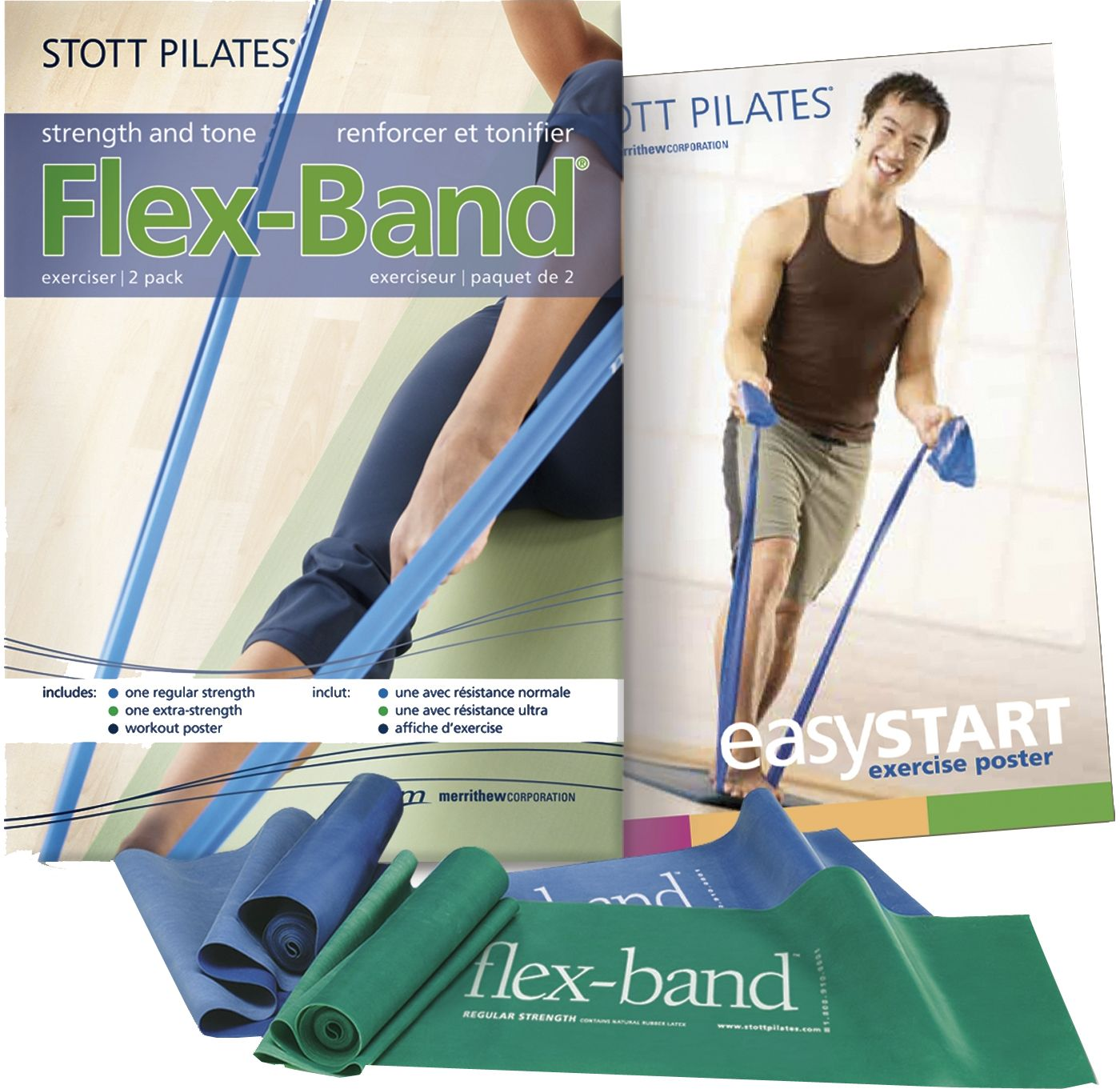 STOTT PILATES Flex Bands