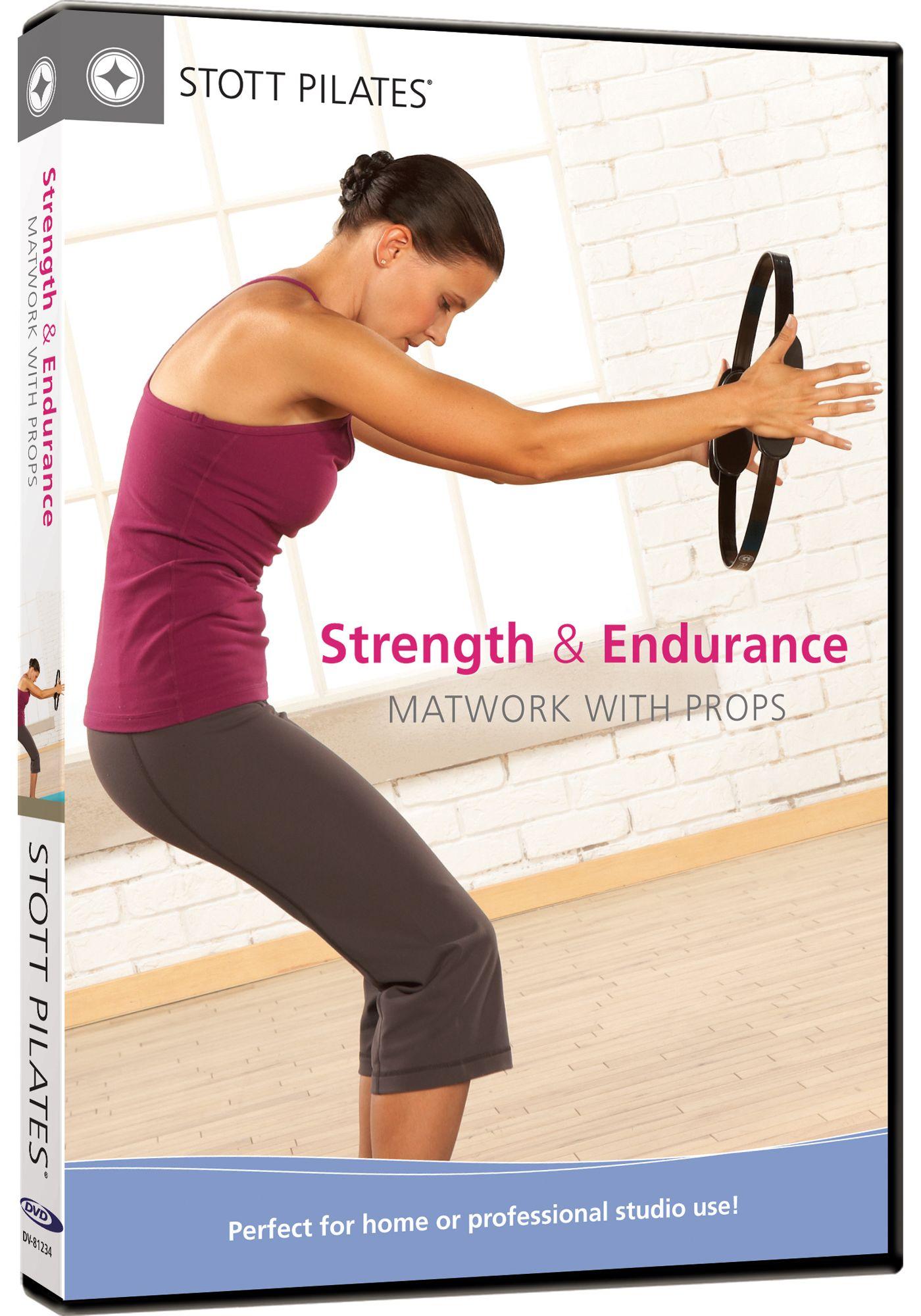STOTT PILATES Strength and Endurance Matwork DVD