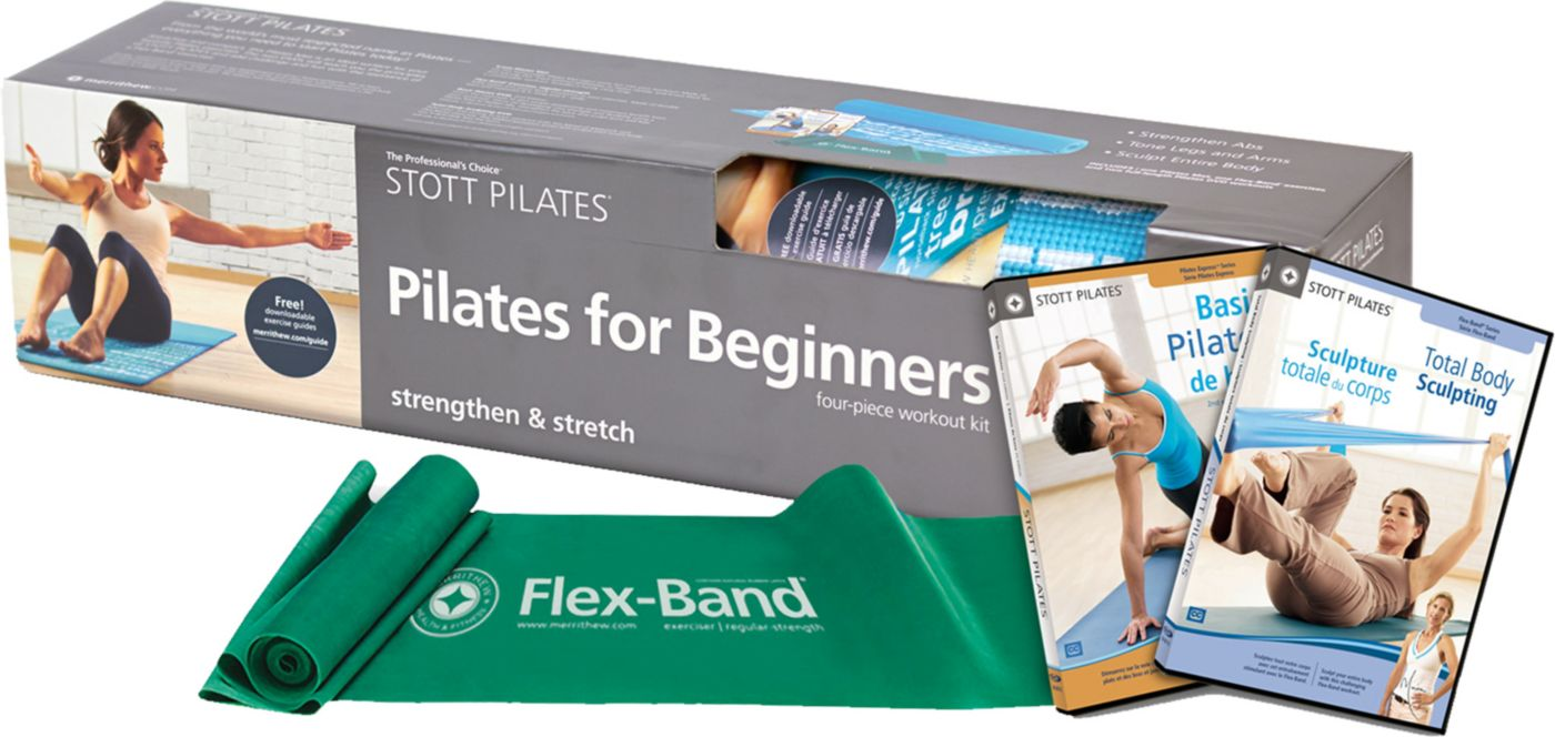 STOTT PILATES 2nd Edition Basic Pilates for Beginners Workout Kit