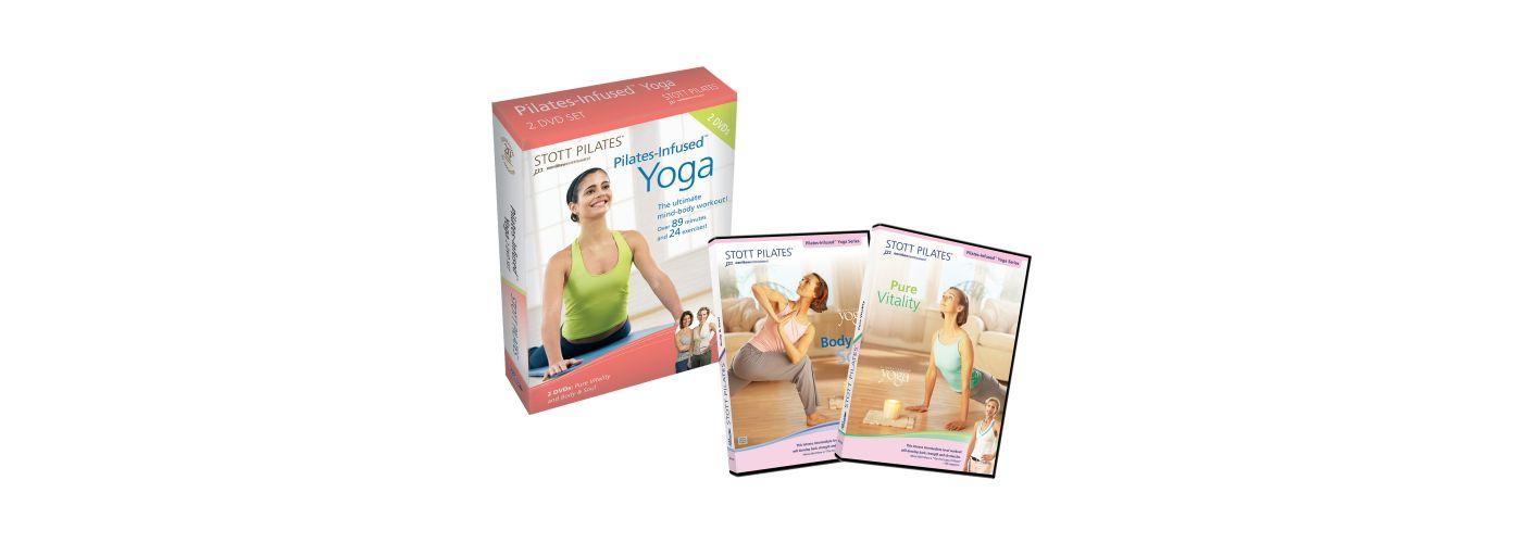 STOTT PILATES Pilates-Infused Yoga DVD Set