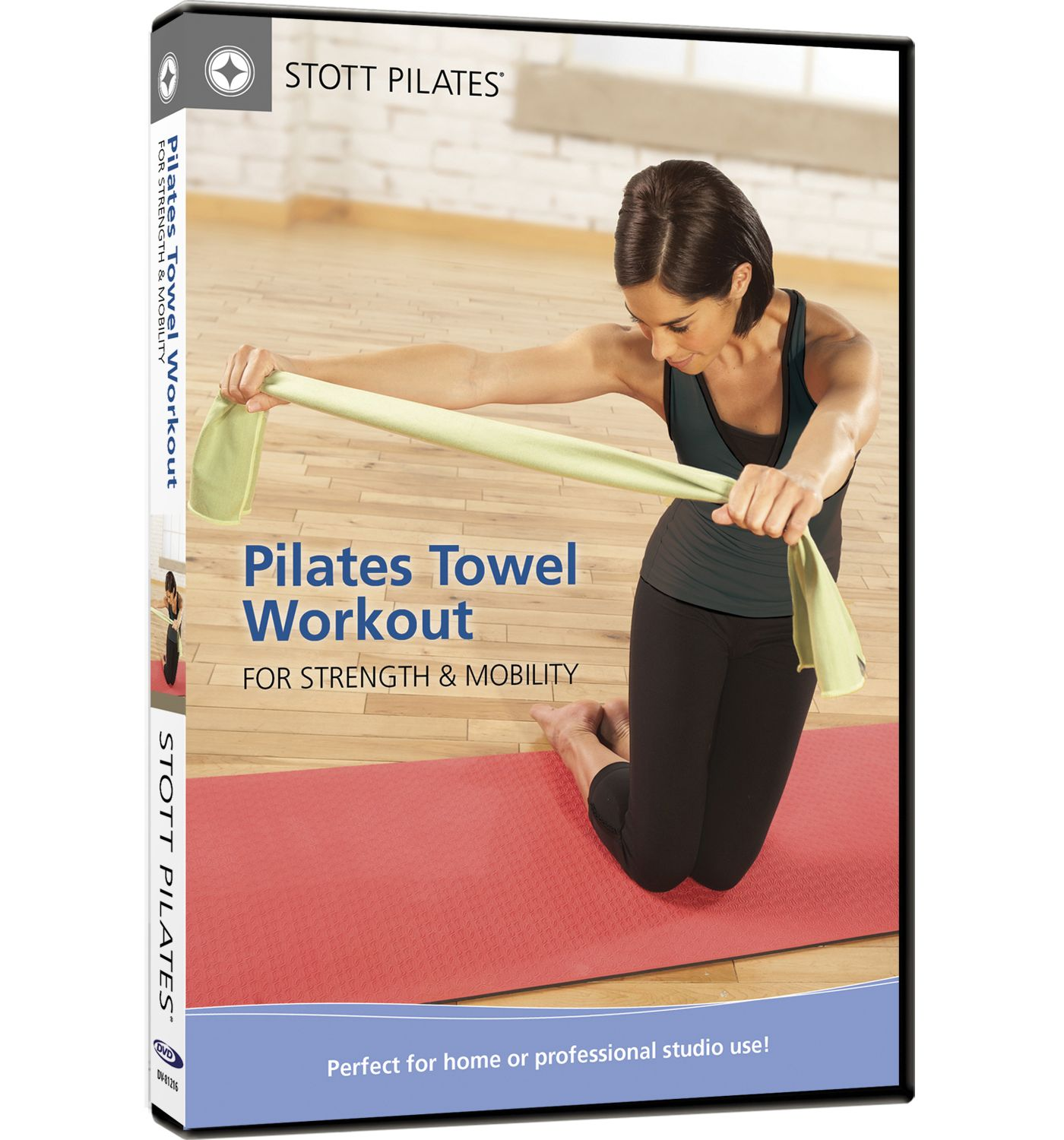 STOTT PILATES Towel Workout for Strength & Mobility DVD