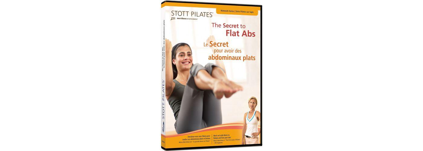 STOTT PILATES Secret to Flat Abs DVD