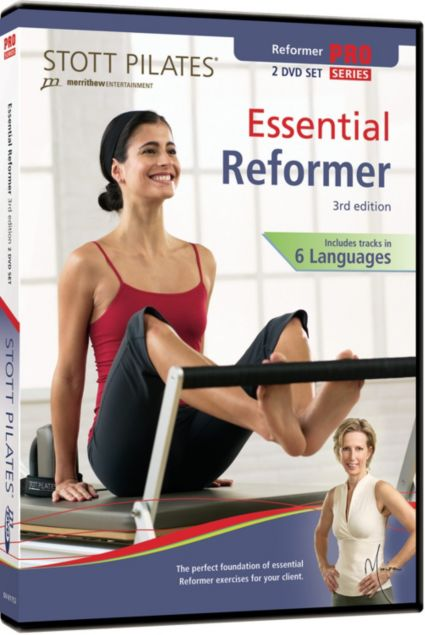 STOTT PILATES Essential Reformer DVD
