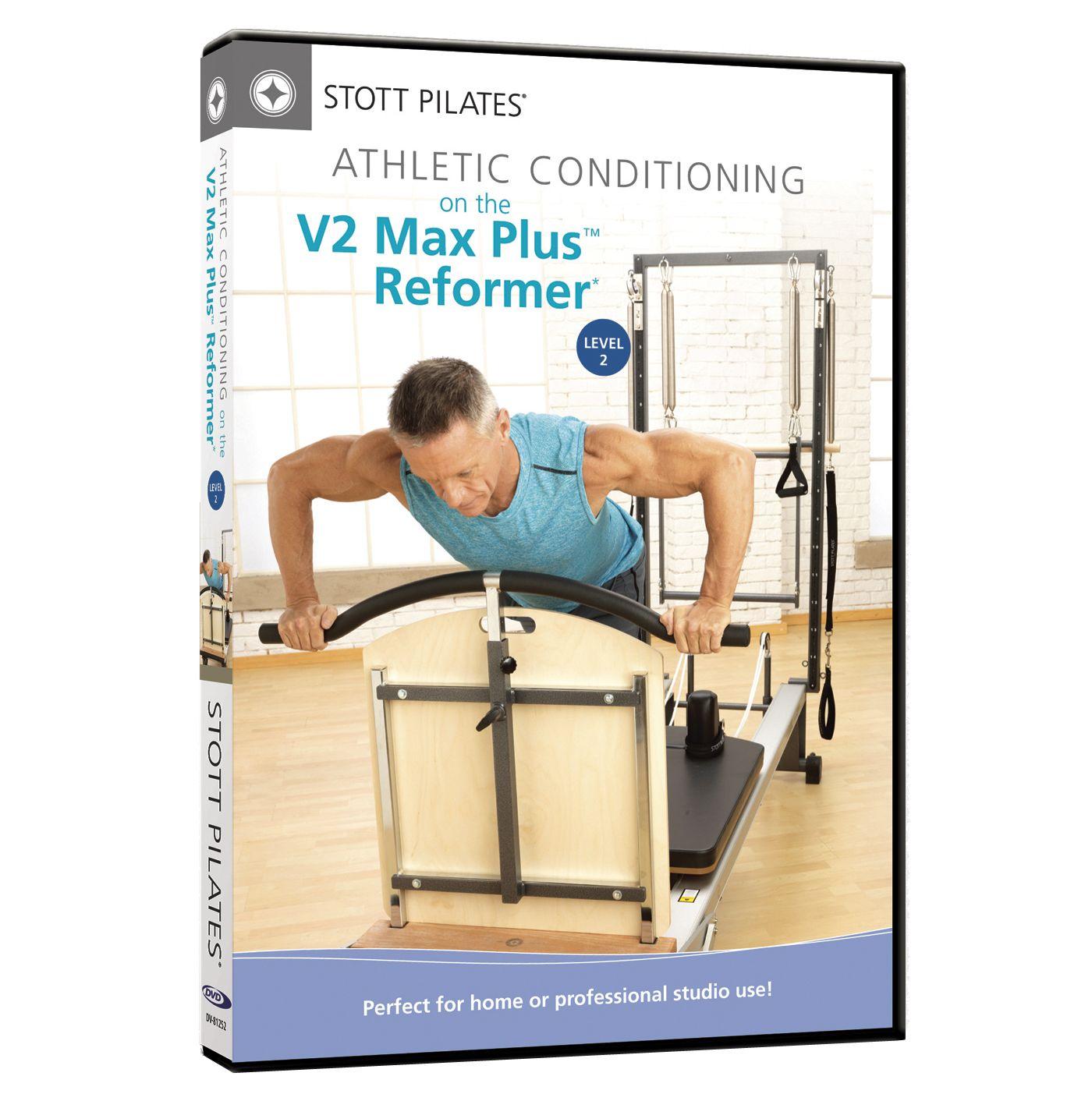 STOTT PILATES Athletic Conditioning on V2 Max Plus Reformer, Level 2 DVD