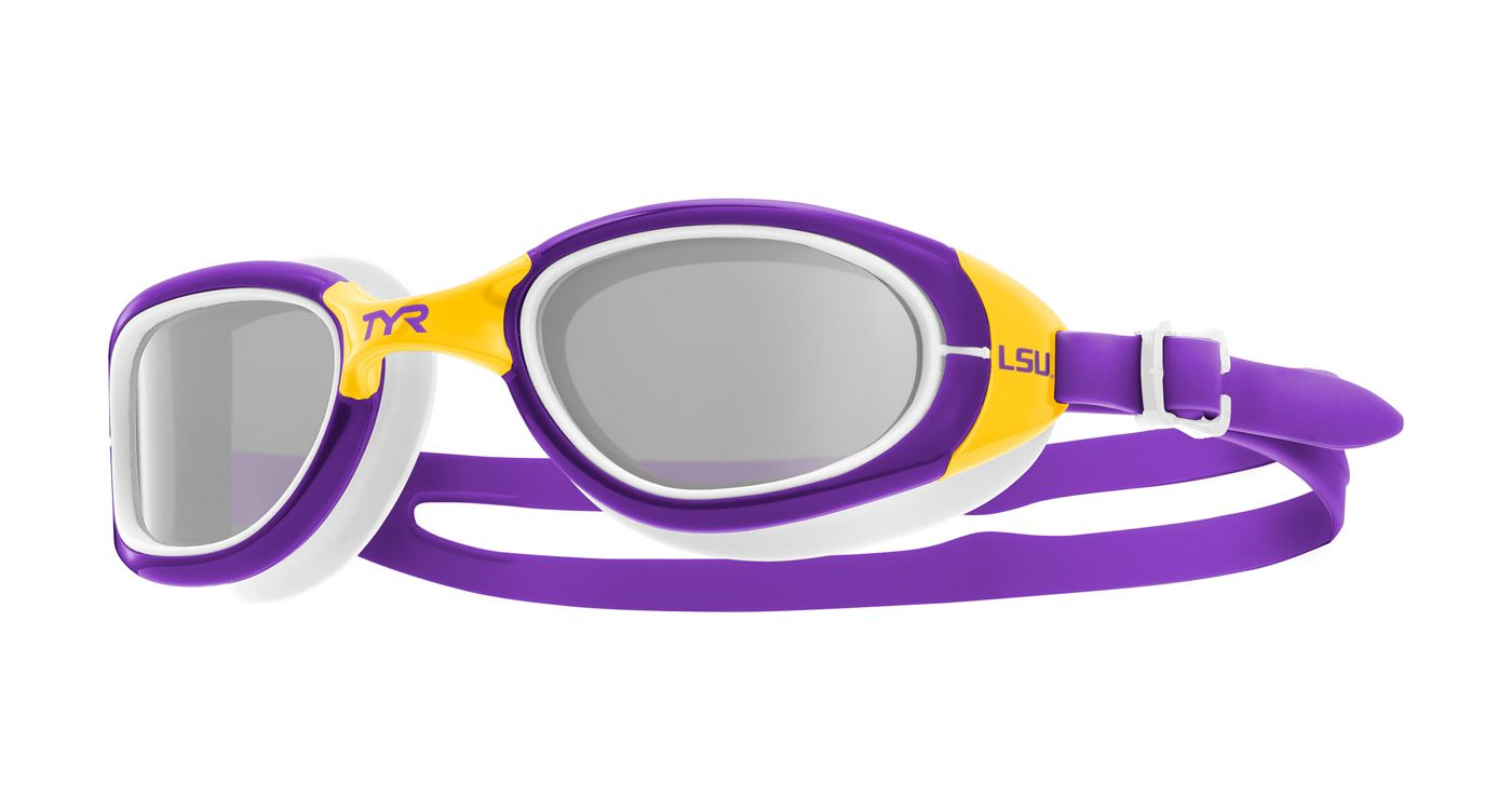 TYR LSU Tigers Special Ops 2.0 Swim Goggles