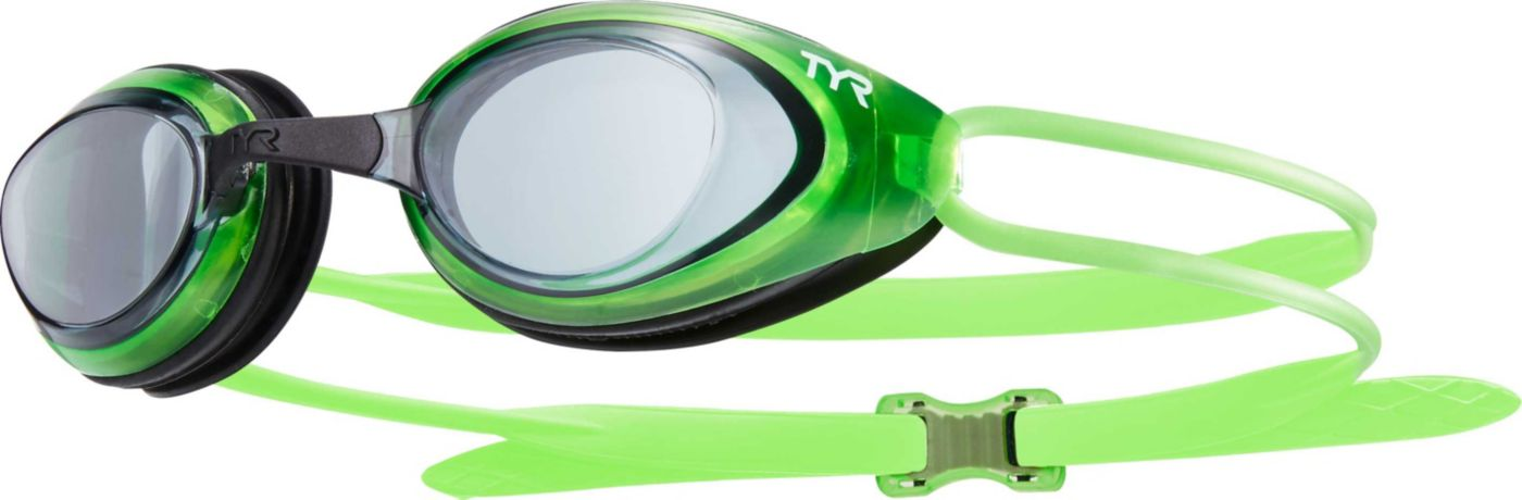 TYR Black Hawk Racing Swim Goggles