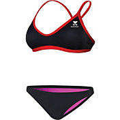 TYR Women's Durafast Lite Solid Brites Workout 2-Piece Swimsuit