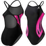 TYR Women's Pink Phoenix Splice Diamondfit Back Swimsuit