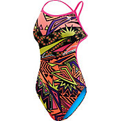 TYR Women's Whaam Valley Fit Open Back Swimsuit