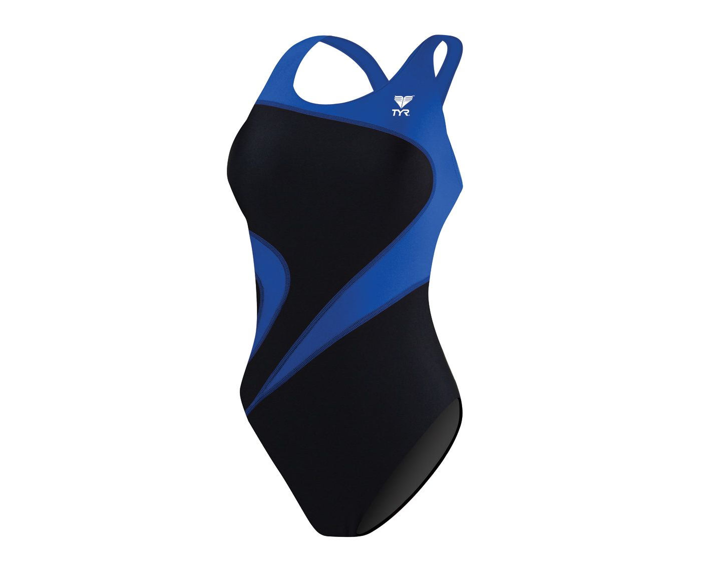 TYR Women's Alliance Team T-Splice Maxback Tank Swimsuit