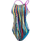 TYR Women's Meraki Cutoutfit Open Back Swimsuit