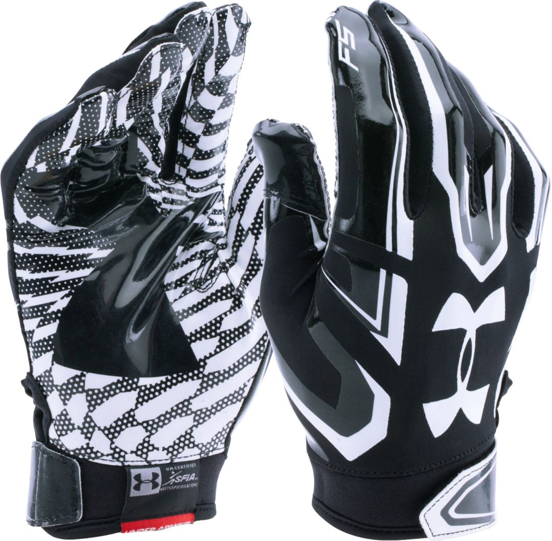 stopcontact gezellig fris 50% korting Under Armour Adult F5 Receiver Gloves
