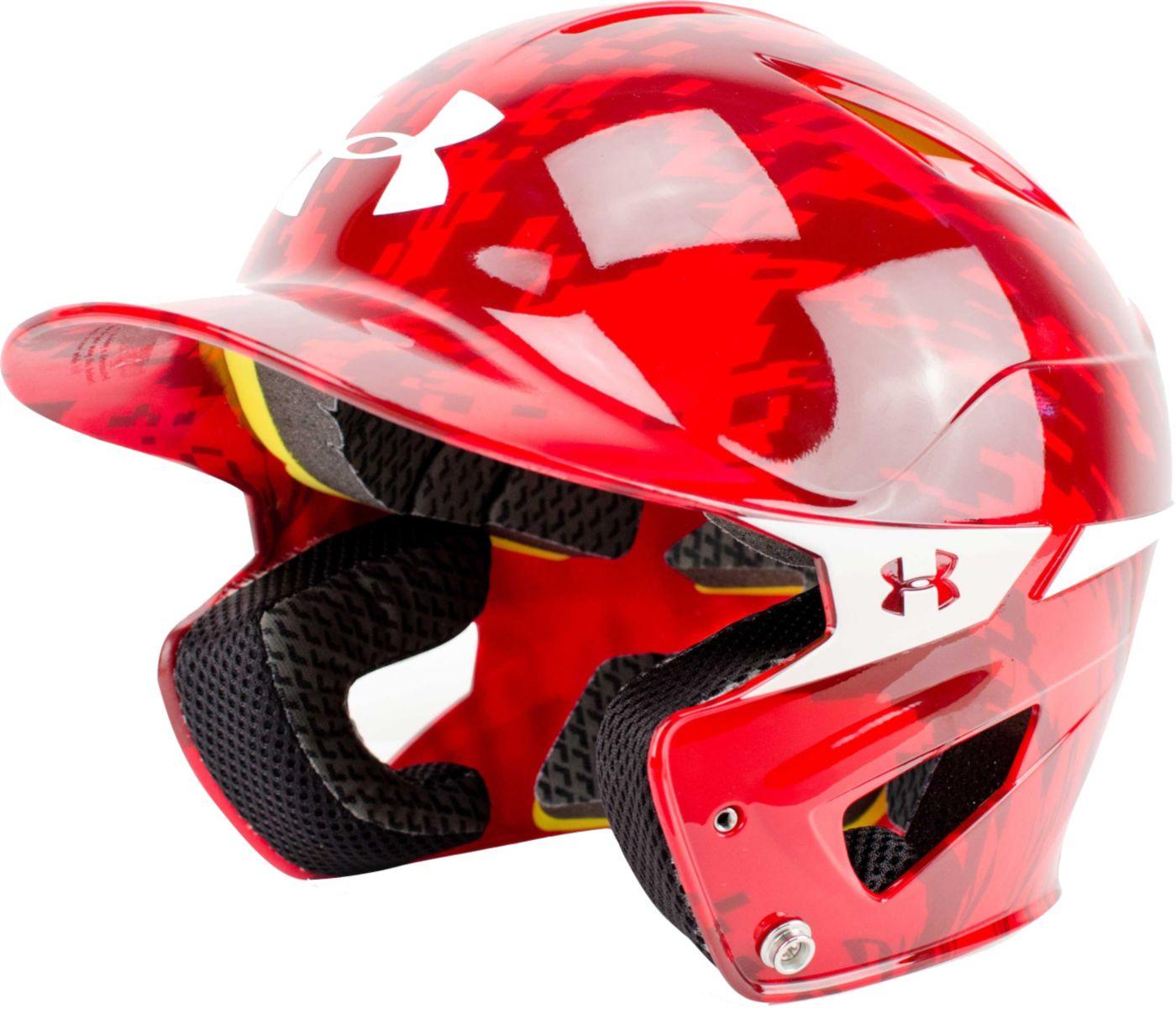 Under Armour OSFM Heater Digi Camo Batting Helmet