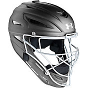 Under Armour Adult Solid Matte Pro Series Catcher's Helmet