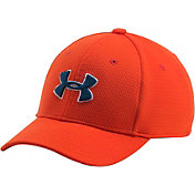 Under Armour Boys' Blitzing Stretch Fit Hat II