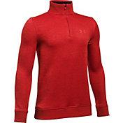 Under Armour Boys' Uniform Quarter-Zip Golf Sweater