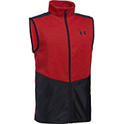 Under Armour Boys' Full-Zip Hybrid Golf Vest