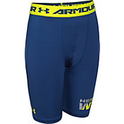 Under Armour Boys' HeatGear Armour 6'' Fitted Shorts – Long