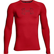 Under Armour Boys' Armour Long Sleeve Shirt