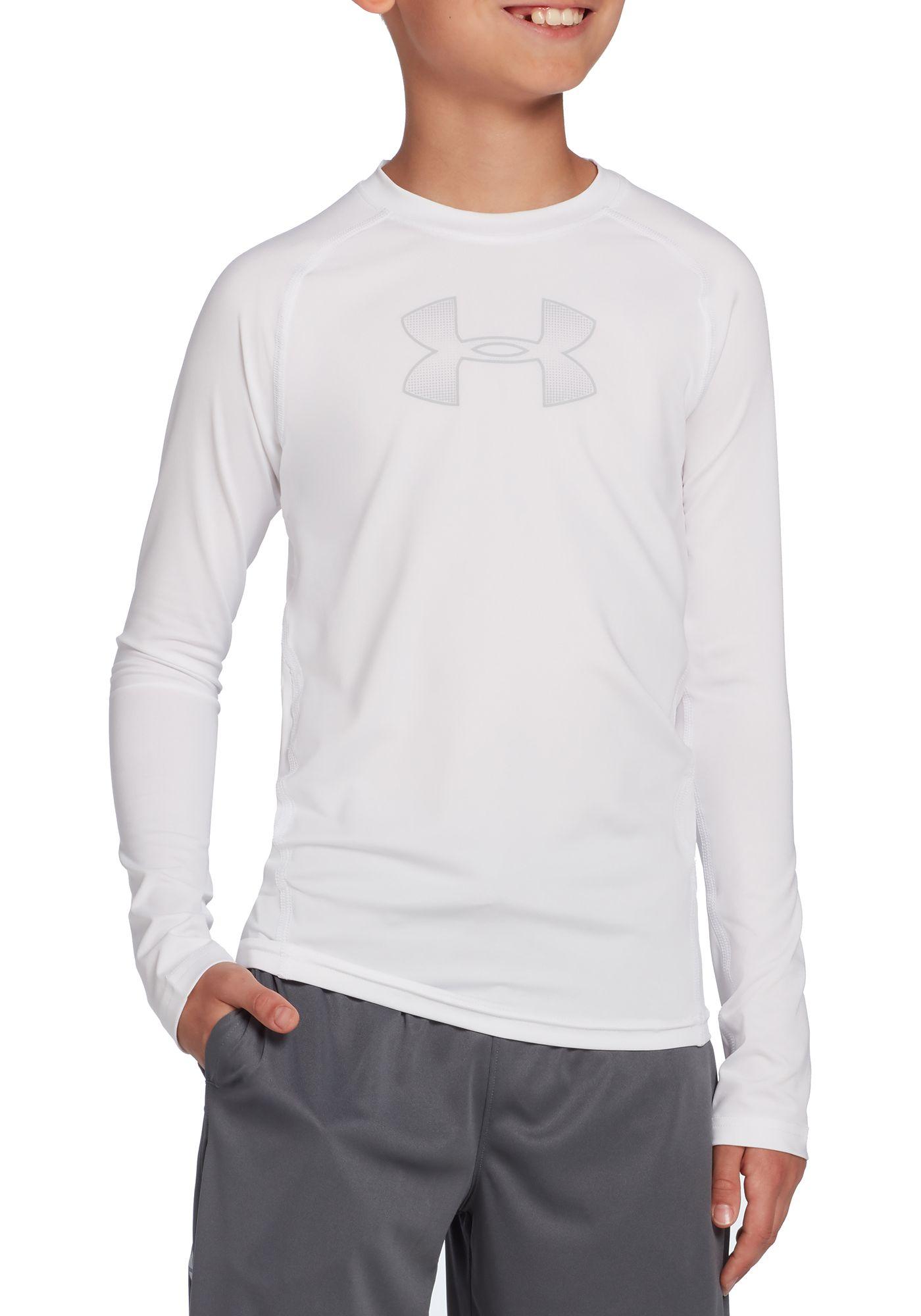 Under Armour Boys' Armour Long Sleeve Shirt