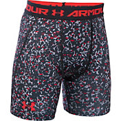 Under Armour Boys' HeatGear Armour Up Fitted Printed Shorts