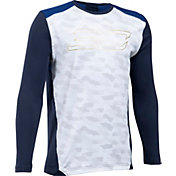 Under Armour Boys' SC30 Performance Shooting Long Sleeve Shirt